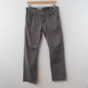 AG The Protege Straight Leg Jeans 31 x 34 Gray